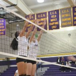 Girls Volleyball: Matadors lose their second home game 0-3 against Homestead High School