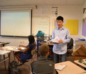 First week: New math teacher Alan Wong rewrites his history at MVHS