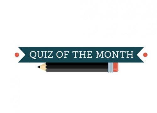 Quiz of the month: June – August