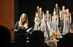 Four choirs hold their debut concert