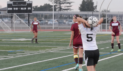 Game GIFs: Girls soccer falls with a smaller team