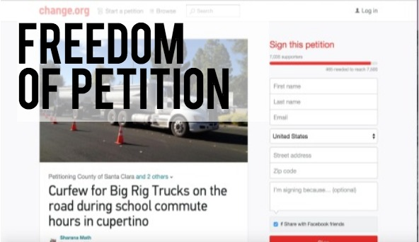 First Amendment Challenge: Freedom Of Petition | El Estoque