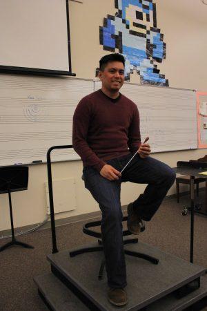 Music teacher Ricky Alegria joins MVHS Music Department