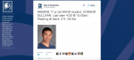 UPDATE: MVHS junior Connor Sullivan returned home