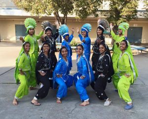 The 2014-2015 Bhangra team at Irvington High School's show Dil Se