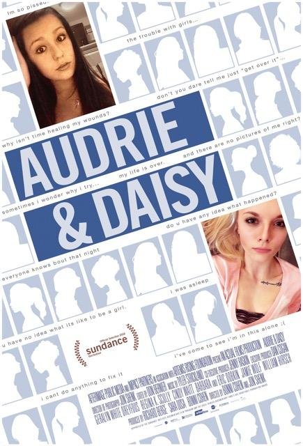 """A poster photo for the film """"Audrie&Daisy."""" It is a documentary, but its storytelling devices make it feel less like a documentary and more like a regular film. Photo from IMDb."""