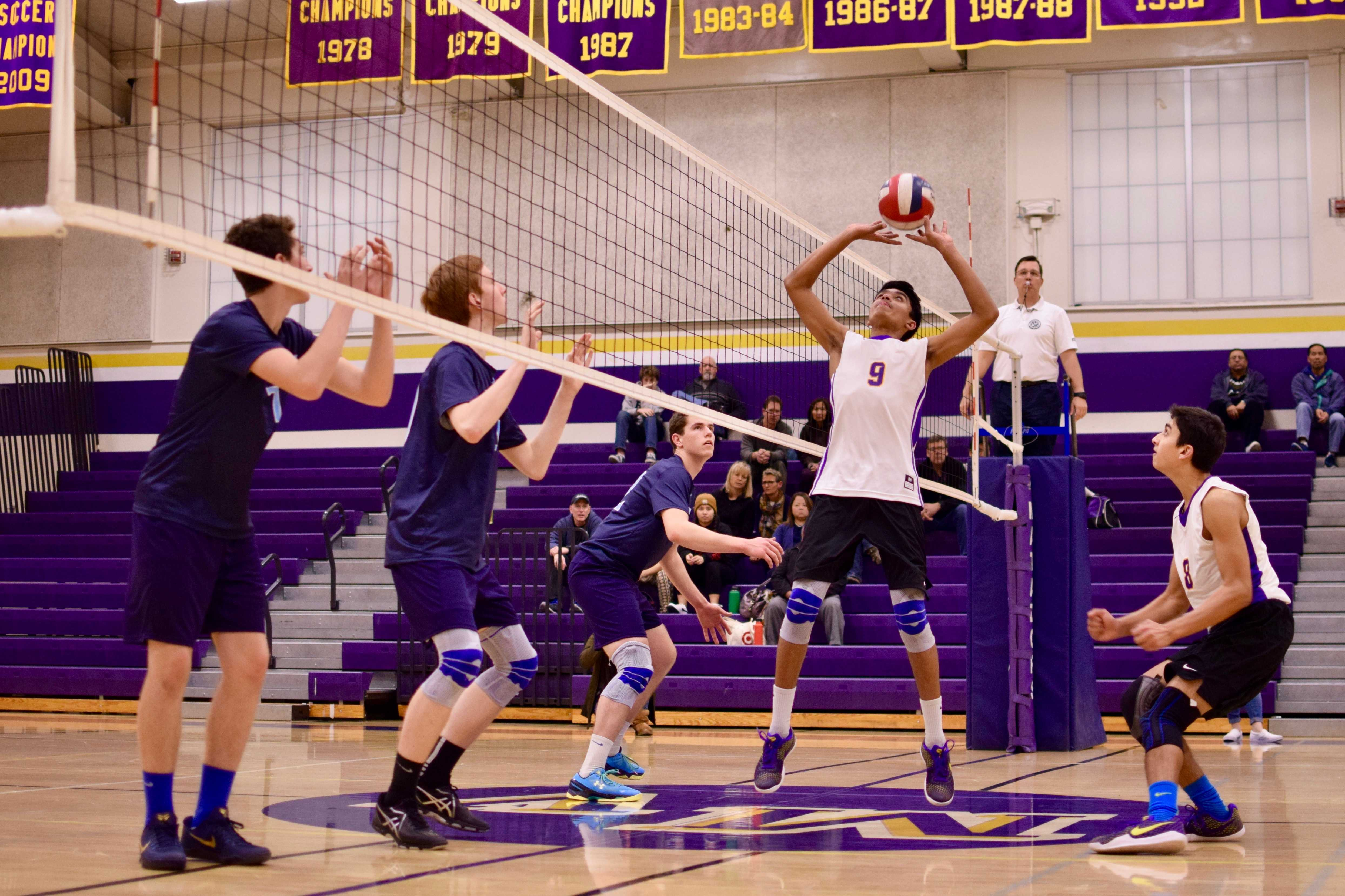 PHOTOS- Boys vball vs Bellarmine - 7