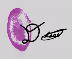 Dylan Signature Print