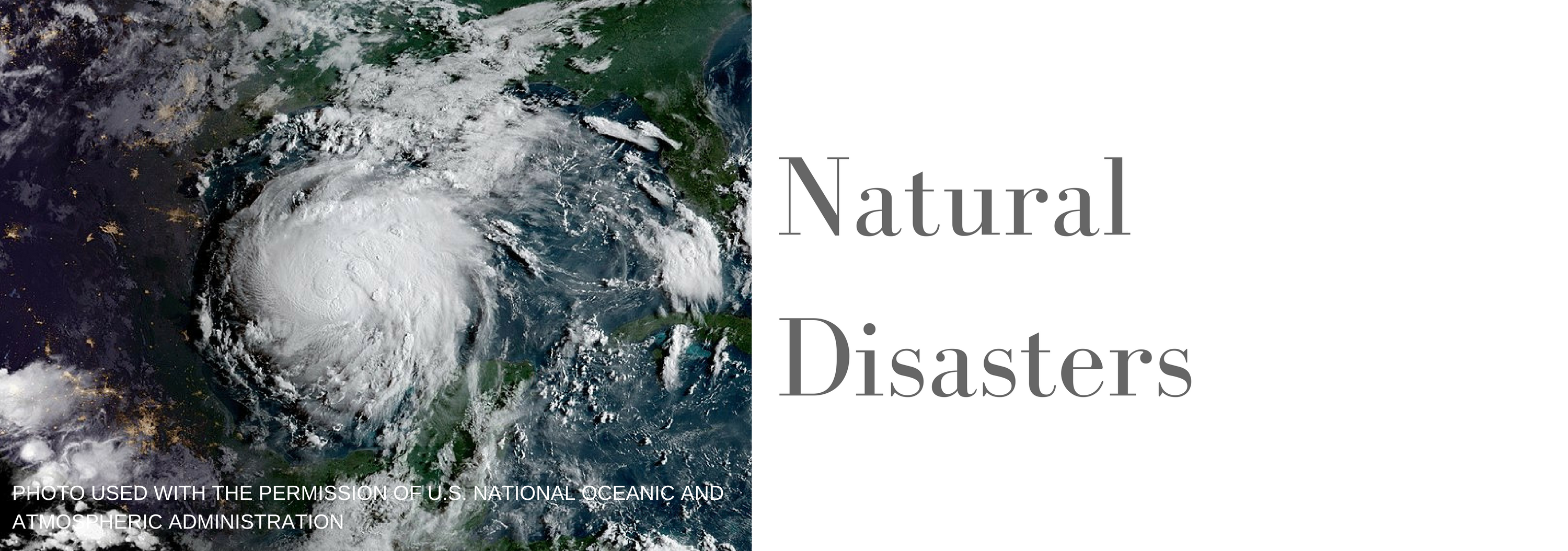 nat disasters