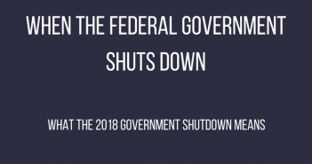 When the Federal Government Shuts Down