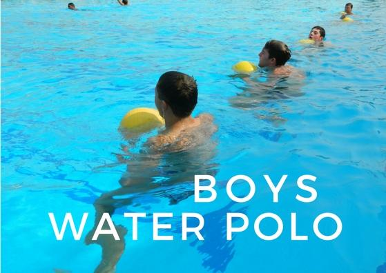 BOYS waterpolo