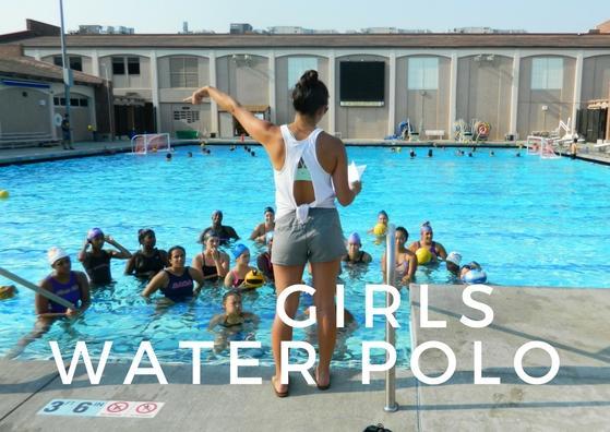 GIRLS waterpolo