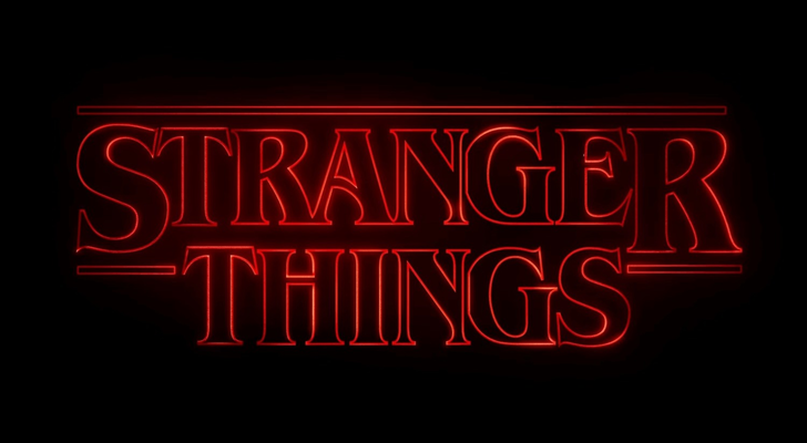 Lowtrucks, Stranger Things logo, July 22, 2016 via Wikimedia, Creative Commons Attribution