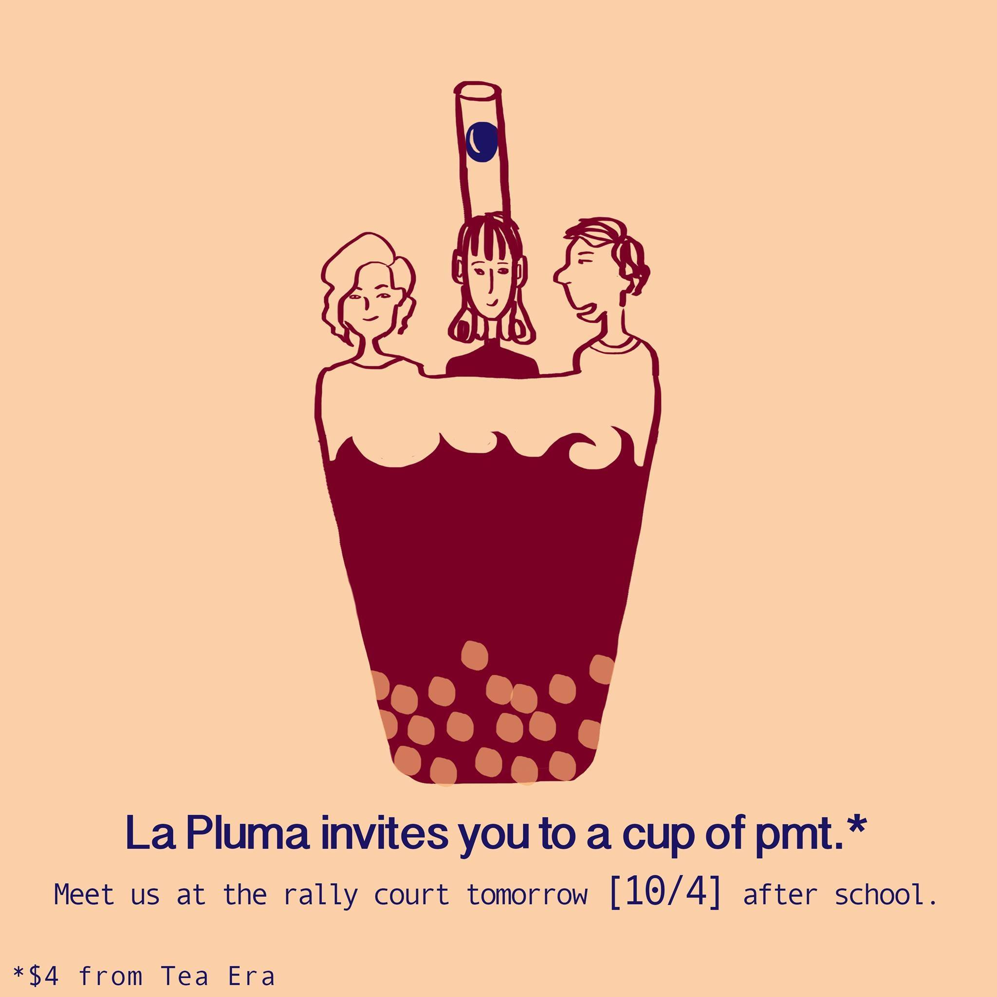 Used with permission from La Pluma La Pluma hopes to continue with more fundraisers for the club. The money raised will go to future SNS magazines.
