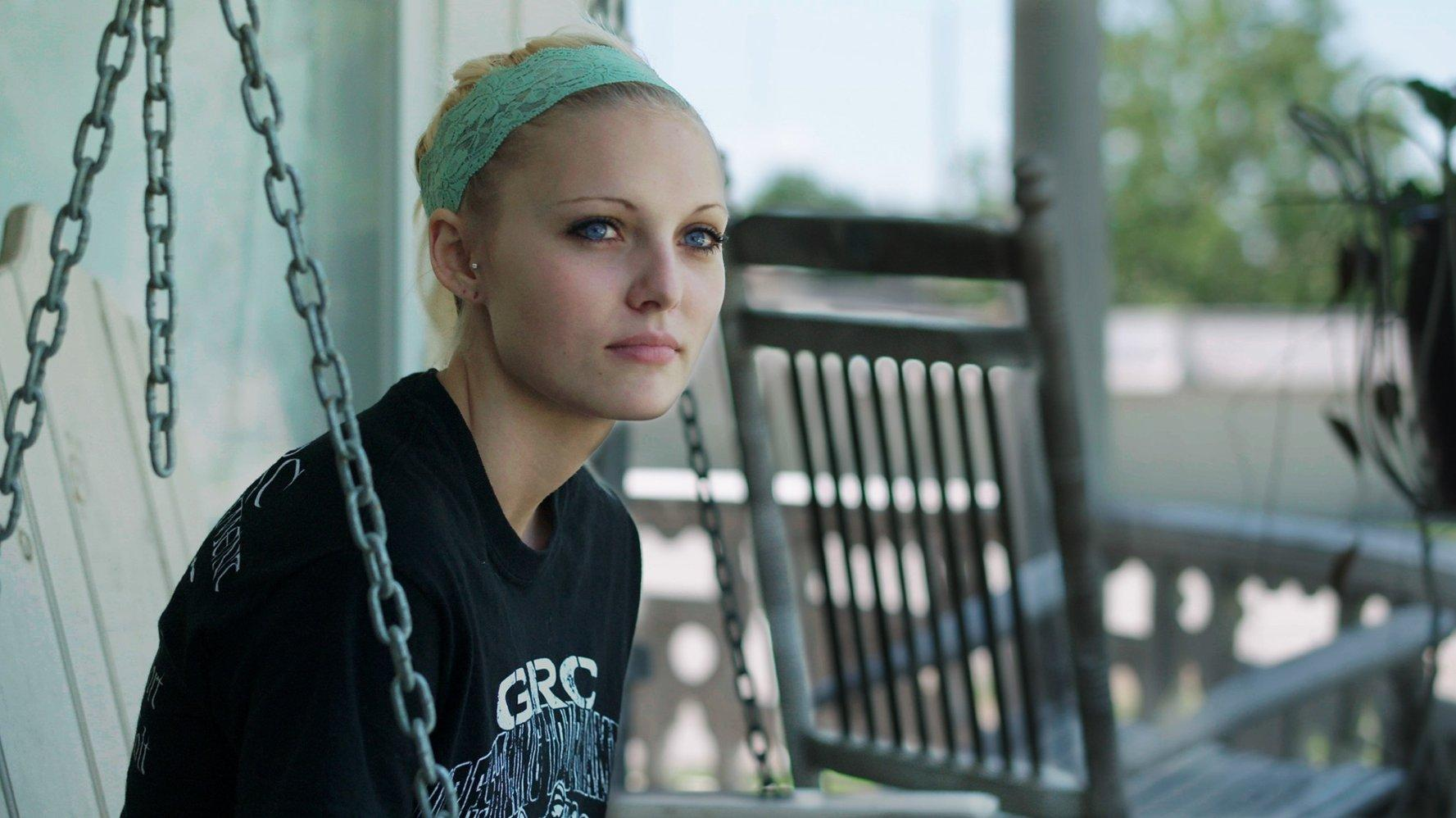"A photo of Daisy Coleman, who was sexually assaulted as a freshman in high school. ""Audrie&Daisy"" discusses the effects of her sexual assault. Photo from IMDb."