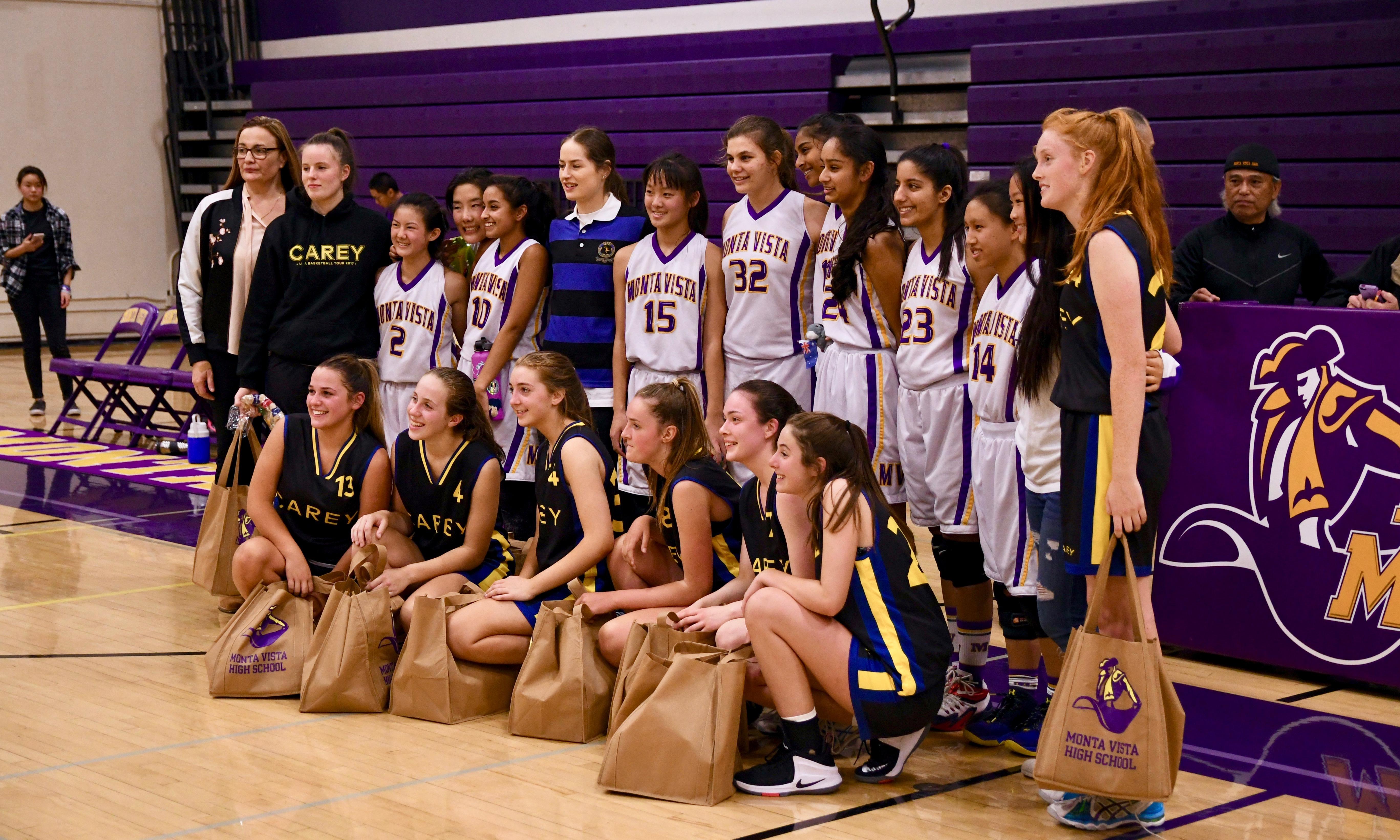 GIRLS BBALL vs Cary HS - 22
